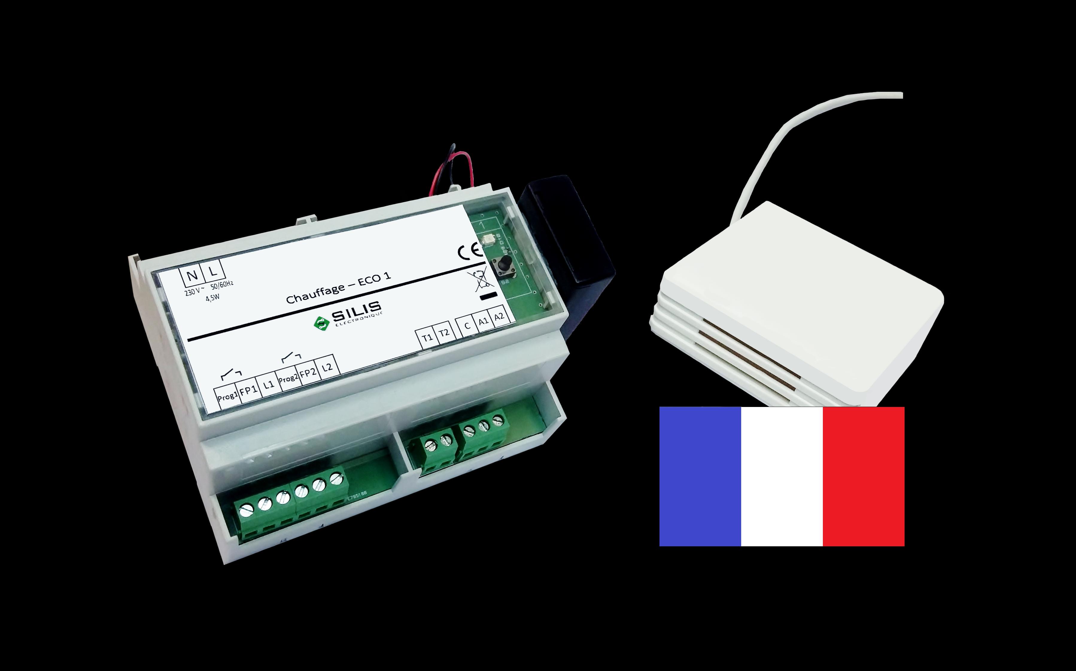 Gestion chauffage r sidence secondaire silis lectronique - Mode eco chauffage electrique ...