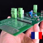 IMG DALI Domotique conçu en France par SILIS Electronique carte pedagogique