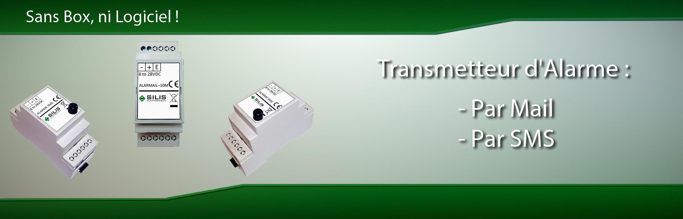 Alarmail (Transmetteur Téléphonique / IP)